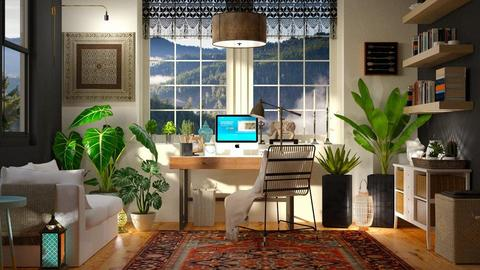 Bohemian Office - Office - by DeborahArmelin