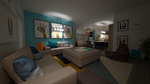 ALDRED 2 - Living room - by louisdhe