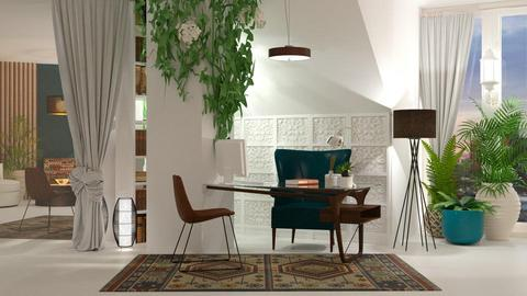 Boho office - Office - by jagwas