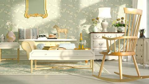 Shabby_Chique - Living room - by ZuzanaDesign