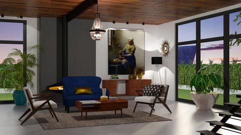 Mid Century Modern  - Living room - by jagwas
