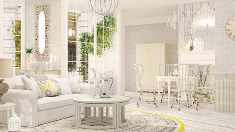 Shabby Chic living - Living room - by jagwas