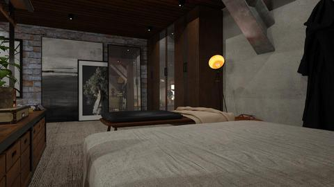 Loft 07 - Eclectic - Bedroom - by evahassing
