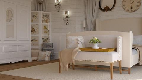 shabby chic bedroom  - Bedroom - by boho_dreamer