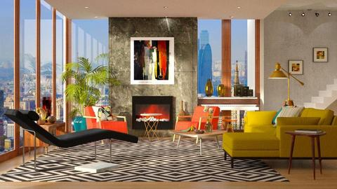 MC Modern Living - Modern - Living room - by DeborahArmelin