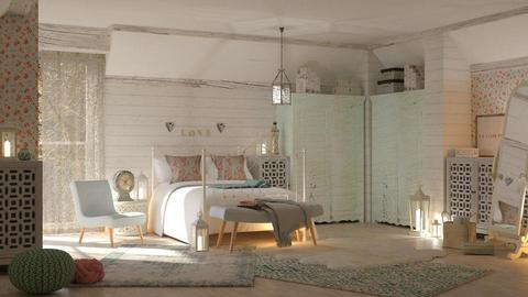 Shabby bedroom - Vintage - by sukica