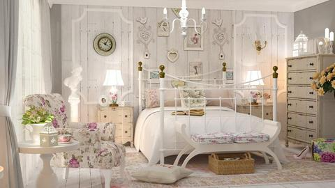 Shabby Chique - Vintage - Bedroom - by Valkhan