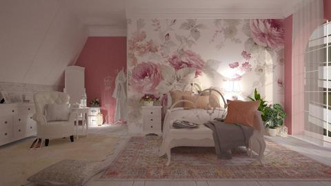 pink - Bedroom - by anjaam