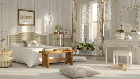 Shabby Chic Bedroom - by ariema