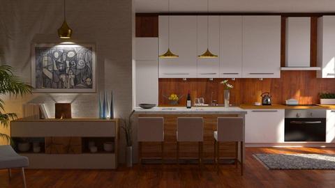 MCM kitchen - by barnigondi