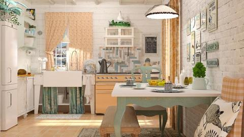 shabby chic - Vintage - Kitchen - by starsector