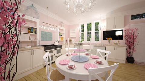 Shabby Chique Kitchen - Kitchen - by nikkisp