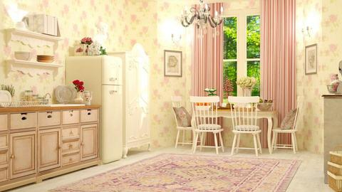Shabby Kitchen - Vintage - Kitchen - by DeborahArmelin