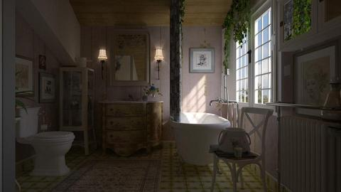 shabby chic - Bathroom - by marinmarin