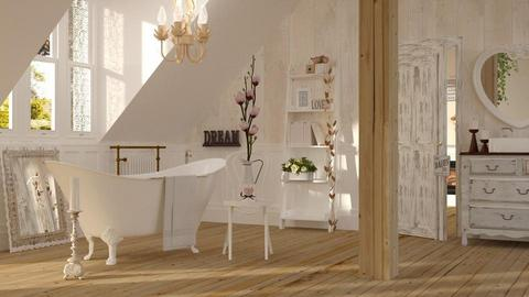 Shabby Chic Bathroom - by ariema