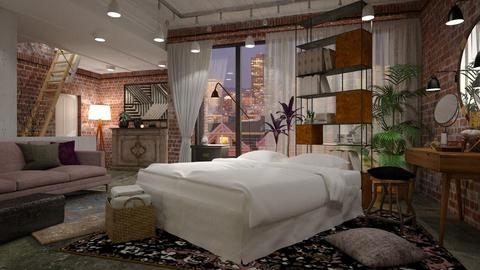 Eclectic - Eclectic - Bedroom - by evahassing