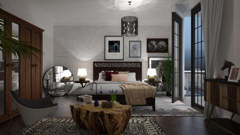 Eclectic Bedroom - Eclectic - Bedroom - by janip