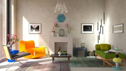 eclectic - Living room - by bnu
