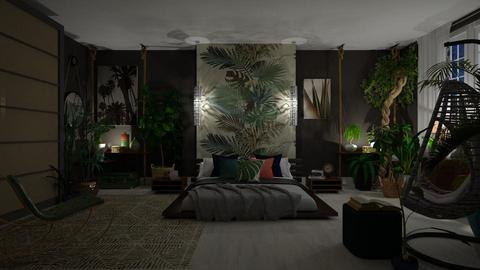 Urban Jungle - Modern - Bedroom - by janip
