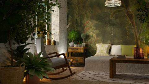 jungle - Living room - by anjaam