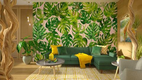 Urban Jungle Living - Living room - by Vlad Silviu