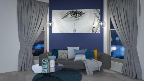 Feature wall - Living room - by JarvisLegg