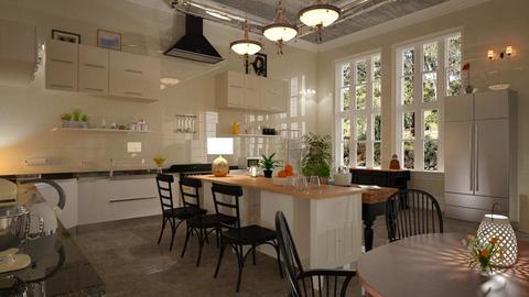 Country_Kitchen - Kitchen - by ZuzanaDesign
