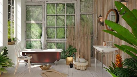 Jungle bath - by barnigondi