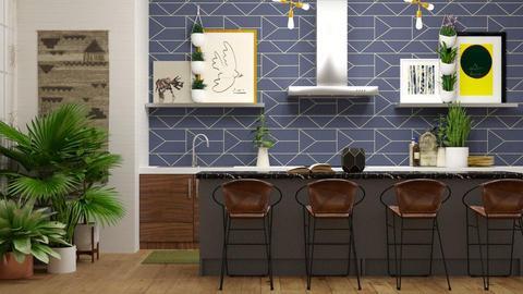 urban kitchen  - Kitchen - by boho_dreamer
