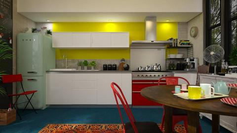 Eclectic Cucina - Kitchen - by rossella63