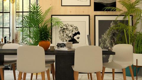 urban jungle office - Office - by boho_dreamer