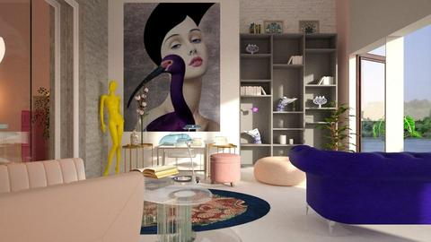 PLRoom - Living room - by ZuzanaDesign