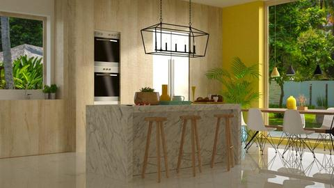 kitchen - by anjaam