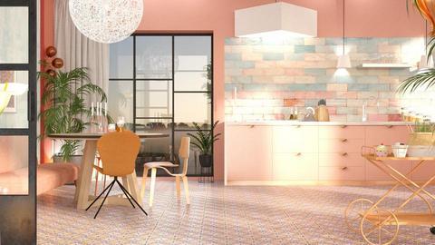 kitchen color  - Living room - by Gwenda van Maaren