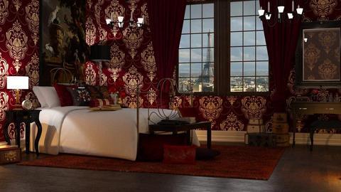 maximalist - Bedroom - by anjaam