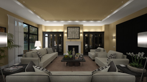 Colette - Classic - Living room - by DMLights-user-982267