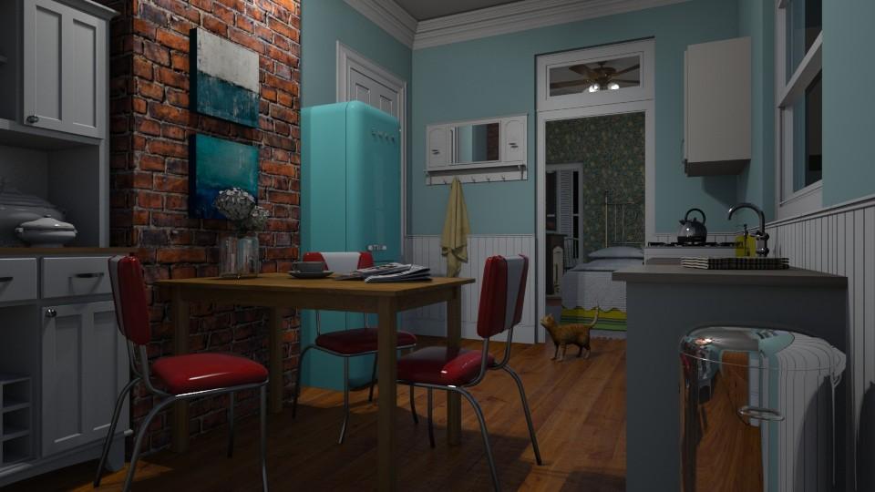 Kitchen Dining - by Valentinapenta