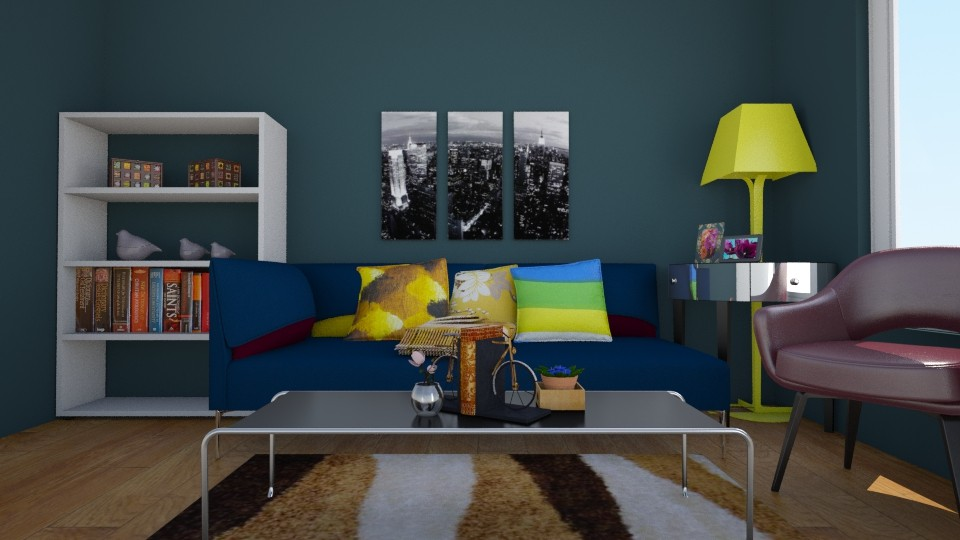 Antechember - Modern - Living room - by Jhiinyat