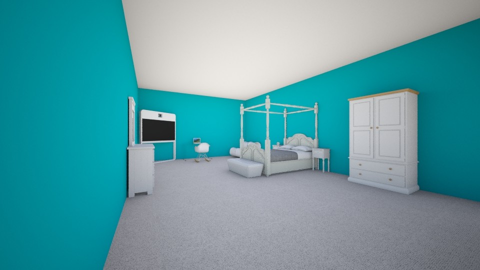 my blueprint for project - Bedroom - by ysejour