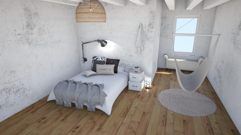 Chic Loft - Minimal - Bedroom - by kristina_bina