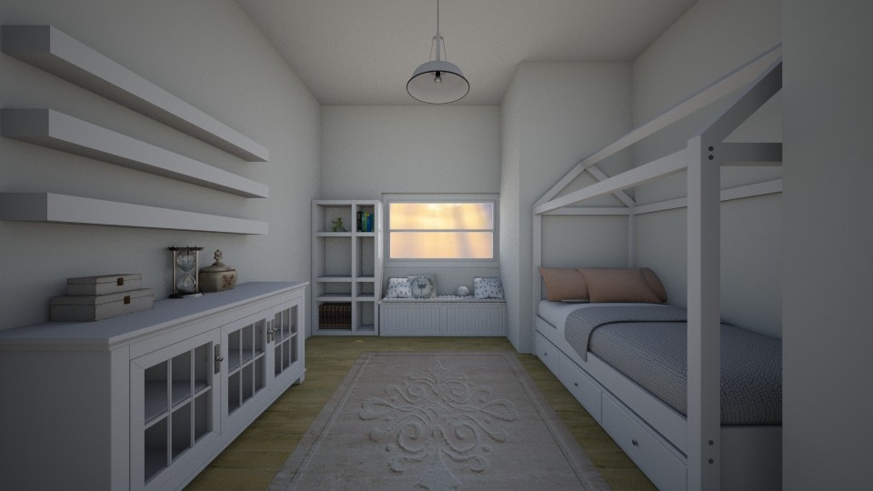 green - Bedroom - by kperson