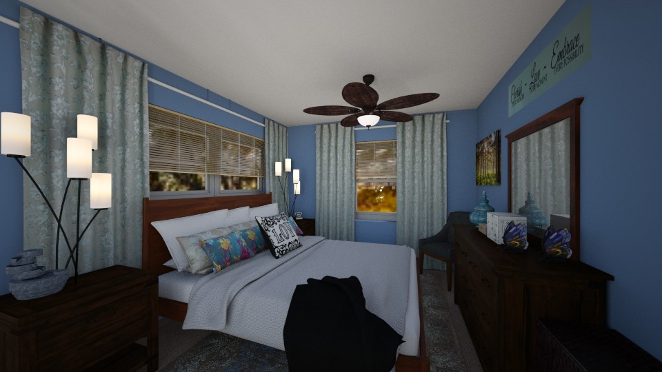 Our New Bedroom - Eclectic - Bedroom - by SherryDW