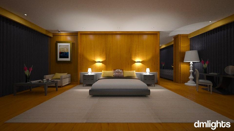 Rachel - Modern - Bedroom - by Claudia Correia