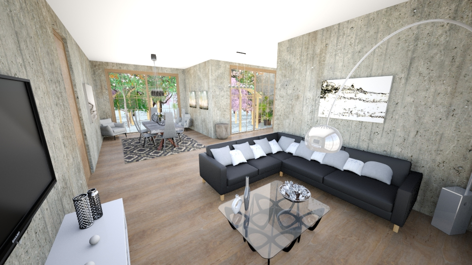 my house - Modern - by carl duvall