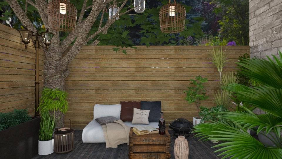 GARDEN TERRACE - Garden - by architect_09