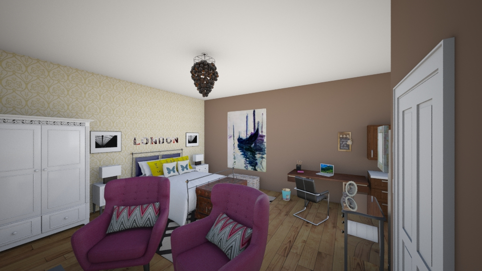 studio room2 - Eclectic - by renne