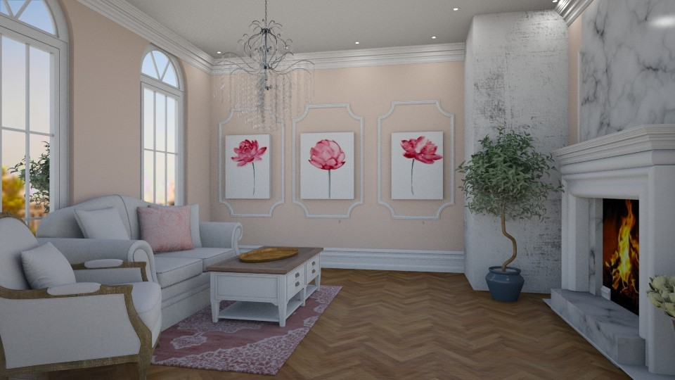 french - Living room - by Wohooo