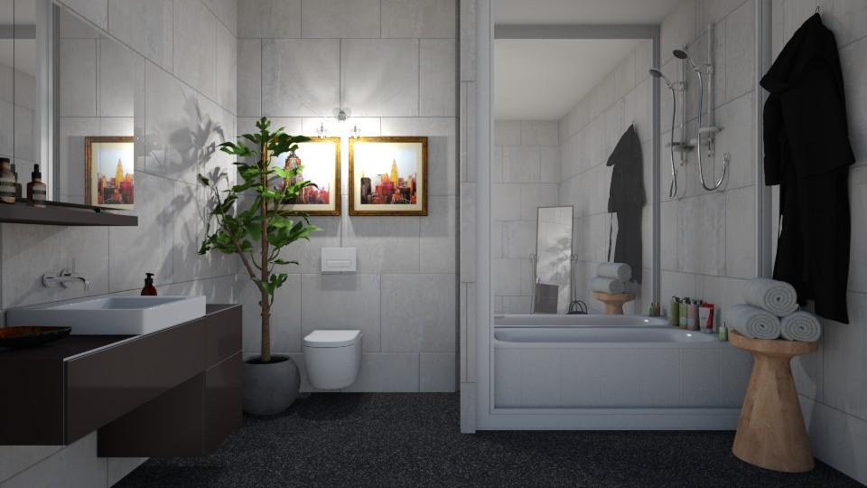House Build Master Bath - by KS81boff