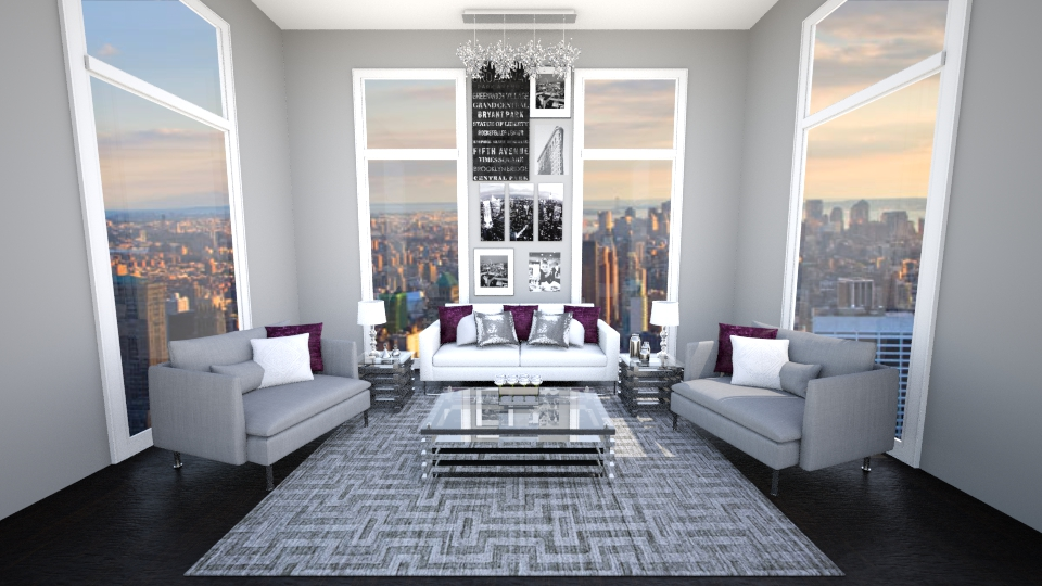 Glam Living - Living room - by jessicabaucke