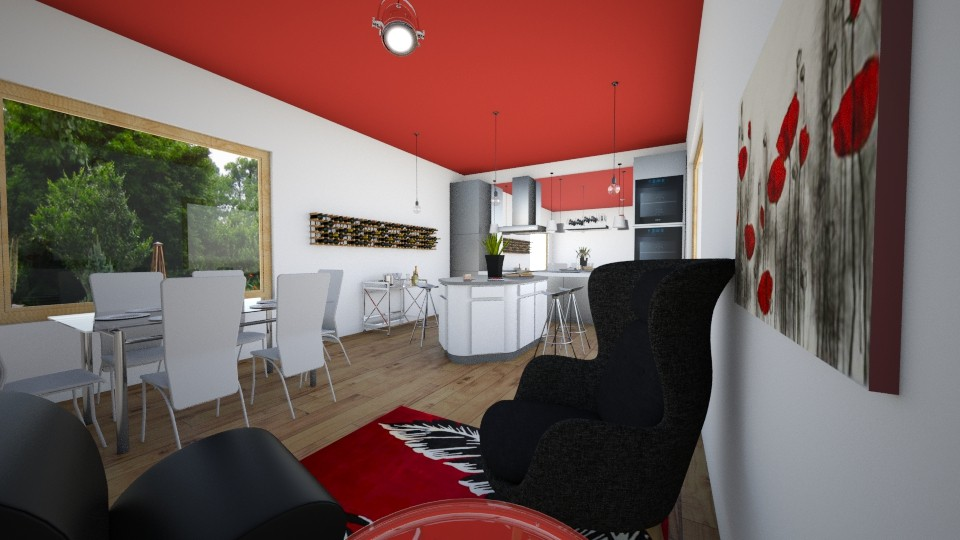 Kitchenette - Kitchen - by AppleSpongeCake